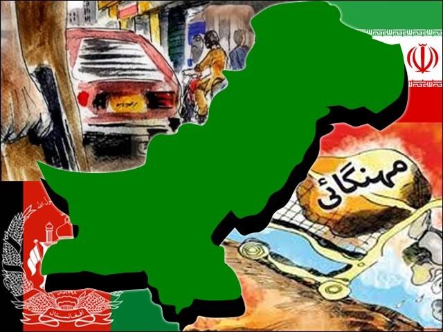 افغانستان اور ایران سے تعلقات کا بوجھ پاکستان میں بدامنی اور مہنگائی کا باعث بنا۔ (فوٹو: فائل)