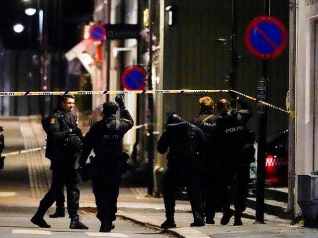 حملہ آور نے کونسبرگ میں واقع سپر مارکیٹ میں داخل ہوکر وہاں موجود لوگوں کو نشانہ بنانا شروع کردیا، مقامی میڈیا۔(فوٹو:ٹوئٹر)