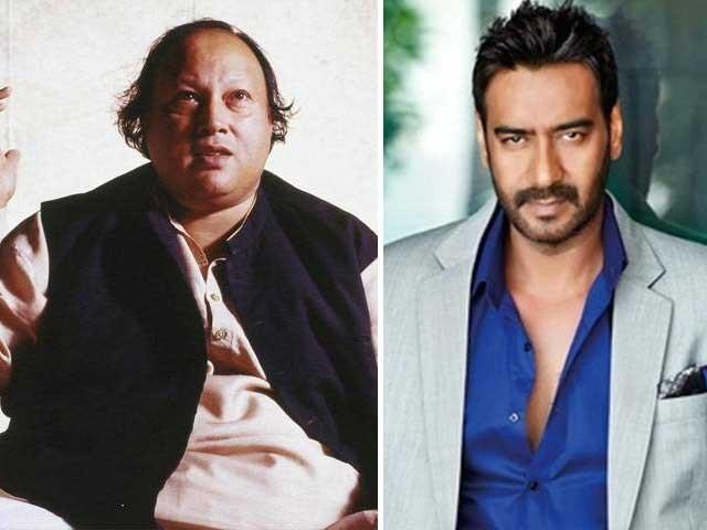 اجے دیوگن کی فلم ''کچے دھاگے'' کا میوزک استاد نصرت فتح خان نے دیا تھا فوٹوفائل