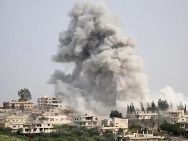 اسرائیلی حملے میں متعدد فوجی اہلکار زخمی بھی ہوئے، برطانوی تنظیم