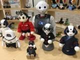 جاپانی کمپنی راکٹ روڈ کمپنی اب روبوٹ کے لیے فیشن والے کپڑے بنارہی ہے۔ فوٹو: راکٹ روڈ کمپنی فیس بک پیج