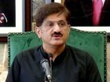 شواہد مٹانے کی وجہ سے ہی سانحہ کارساز پر عدالتی کمیشن نہیں بن سکا، وزیراعلیٰ سندھ  ۔ فوٹو: فائل