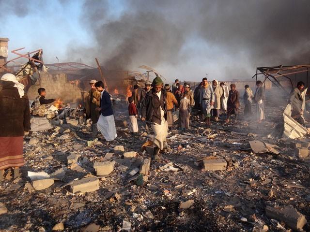 باغیوں کو القاعدہ اور دولت اسلامیہ سے تعلق رکھنے والے عناصر کا سامنا ہے جن کا تعلق حملہ آور افواج سے ہے، حوثی ترجمان (فوٹو: فائل)