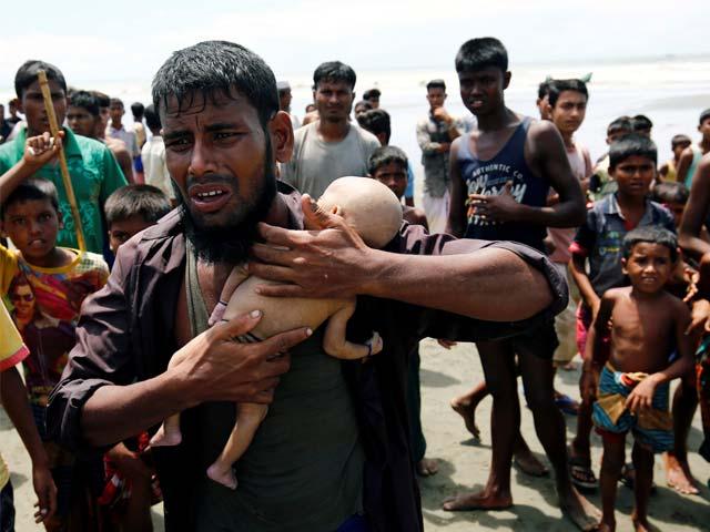 روہنگیا مہاجر کیمپ میں مدرسے پر حملے میں 7 افراد جاں بحق thumbnail