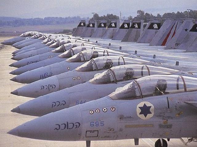 اسرائیلی آرمی چیف نے فضائیہ کو حملے کی تیاری کا حکم دیدیا، فوٹو: فائل