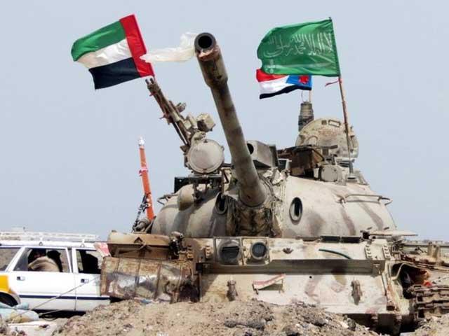 یمن میں عرب فوجی اتحاد کی کارروائیوں میں 90 سے زائد حوثی باغی ہلاک thumbnail