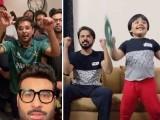 فنکاروں نے پاکستان کی ٹیم کا جشن مناتے ہوئے پیغامات شیئر کیے اور قومی ٹیم کی جیت پر خداکا شکر ادا کیا فوٹوسوشل میڈیا